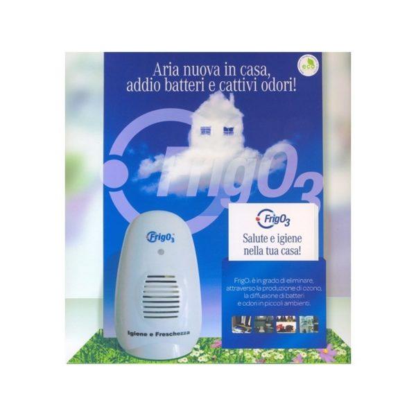 FrigO3 – sanificatore ad ozono per piccoli ambienti
