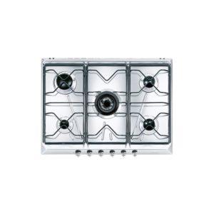 Piano di cottura inox Smeg SRV576-5 , 70CM